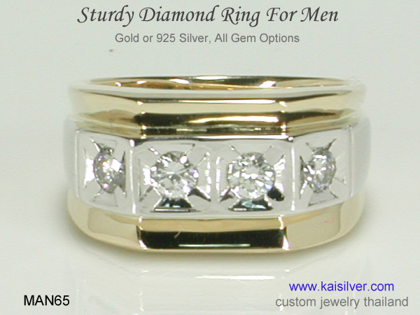 diamond wedding ring for men